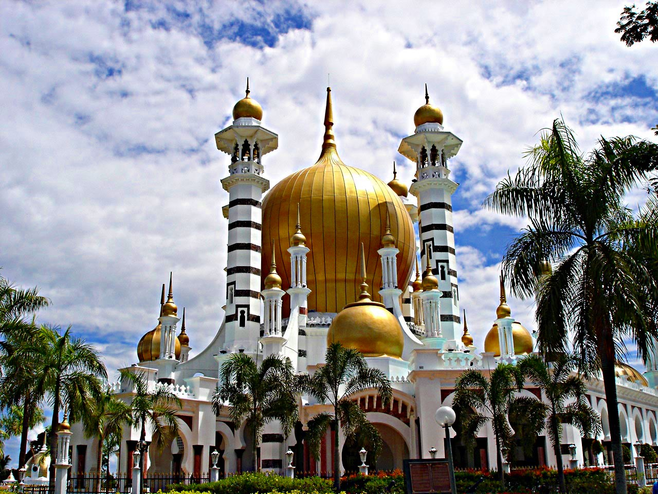 Kuala Kangsar Malaysia  city photos : To view the Top 10 Most Unique Mosques in Malaysia, go to: http ...
