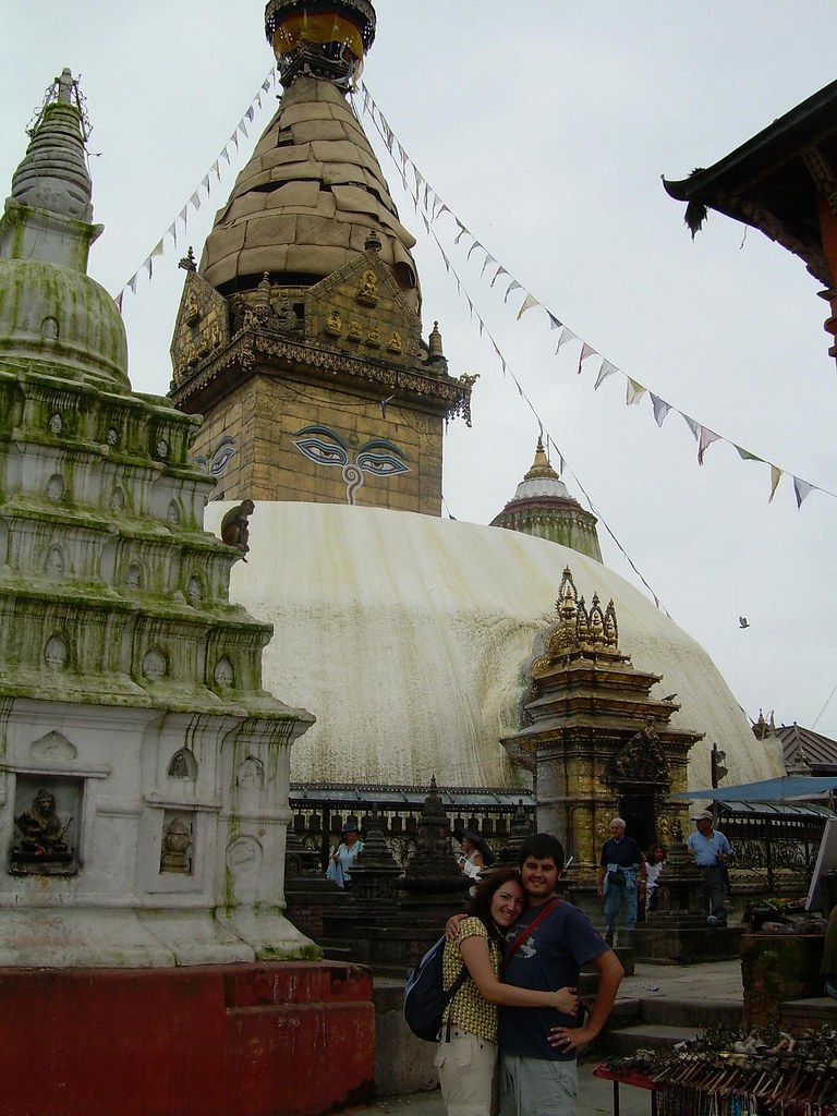 La estupa de Swayambhunath