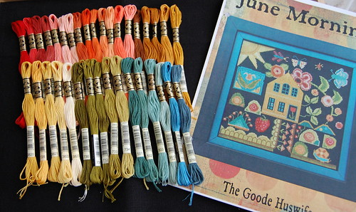 June Morning Threads and Fabric
