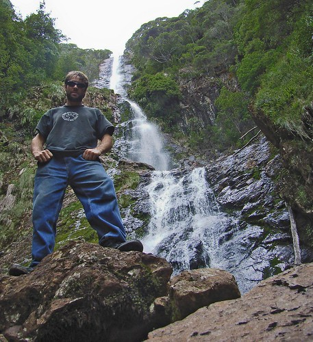 Me by waterfall.