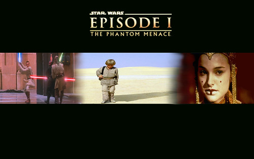 Star Wars, episode 1 The Phantom Menace banner wallpaper #2, star wars wallpapers, starwars enterprise voyage