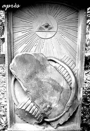 Grabstein Alter Friedhof FR