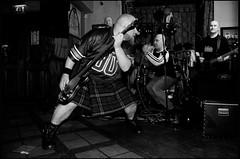Erics (Briggate.com) Tags: music rock pub kilt janice gig leeds livemusic bald band rockmusic barry kilts baldmen baldy landlady theerics thethreehorshoes threehorshoes asdsc4582bw