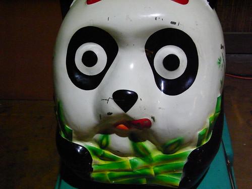 恐怖のパンダ