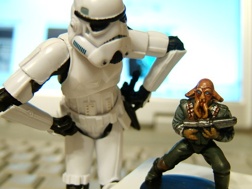 Aren't You a Little Short to Be a Quarren Bounty Hunter? by Doctor