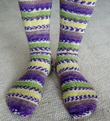 Opal handknitted socks