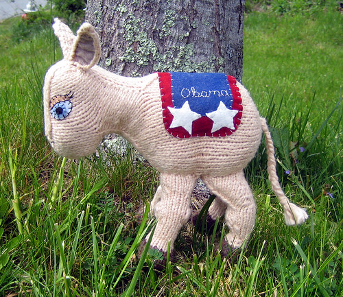 Cute Asses for Obama by caffaknitted.
