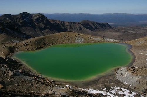 Emerald Lake, Tongariro National Park. Stunning!