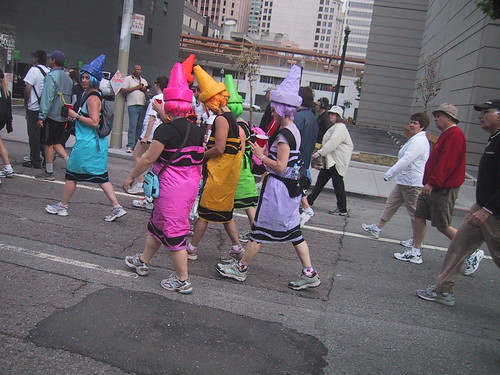 Crayola Crayons - Bay to Breakers Costumes 2008