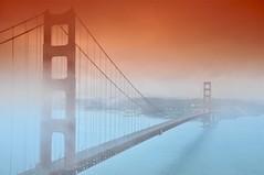 Tobacco Gate Bridge (nLighten_Images) Tags: fog goldengatebridge tamron1750f28 cokinfilters nikond300 graduatedtobaccofilter feisol3441s