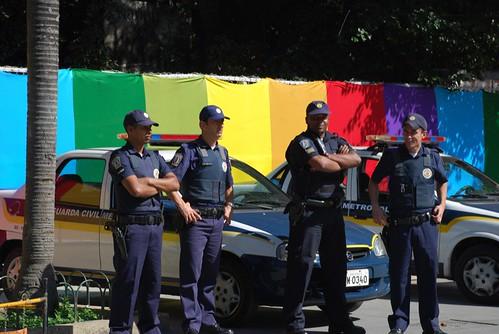 police, orgulho gay