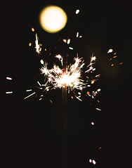 Sparklers (2) (photolyria) Tags: sparkler fireworks sylvester fire light