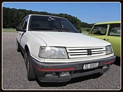 Peugeot 309 GTI (v8dub) Tags: peugeot 309 gti schweiz suisse switzerland bleienbach french pkw voiture car wagen worldcars auto automobile automotive youngtimer old oldtimer oldcar klassik classic collector