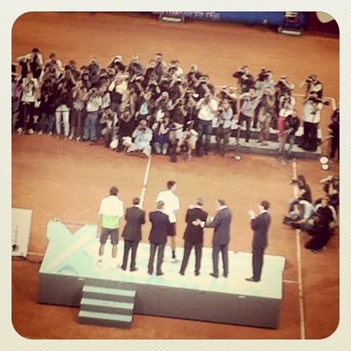 Entrega de premios, Nadal-Djokovic