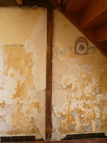 plasterwash on wall