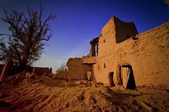 Old House - HDR (Saleh Mohammed) Tags: old blue sky house canon eos sigma mohammed 1020mm hdr saleh محمد بيت d600 صالح سماء قديم تراث كانون القديمه زرقاء طين الخبراء القصيم سيقما