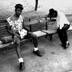 Blacks&White (Osvaldo_Zoom) Tags: nyc portrait people white village head streetphotography washingtonsquare streetphoto 2b blaks bestofr sfidephotoamatori explorephotostakenwiththecoolpix7900 interestingportraitnikoncoolpix7900photos
