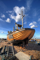 'Their' Cathlene (lowbattery) Tags: sussex boat pebbles dungeness ladder mast romney cathlene romneymarsh southeastcoast aplusphoto