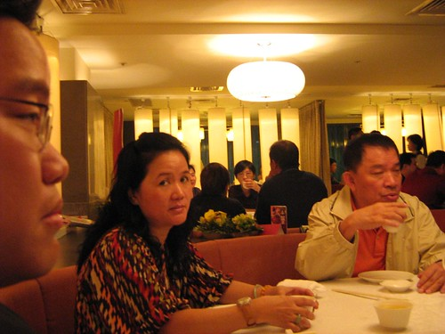 Me and parents in Shin Yeh restaurant