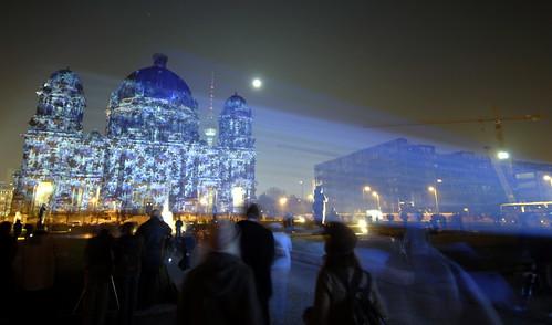 Berliner Dom während des Festivals of Lights - Foto: Henning Onken