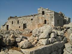 Kalouta Church, Syria. Byzantine Ruins
