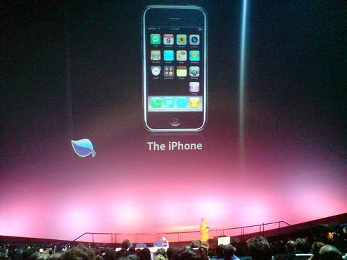 Brian Fling talking about the impact of the iPhone