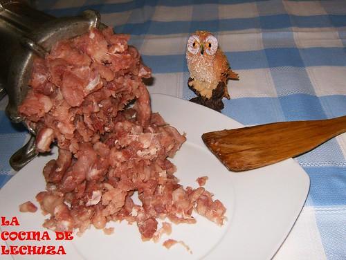 Chorizos-picada más