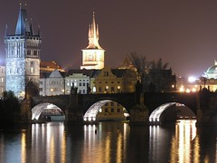 Karluv Most by Night, Prague