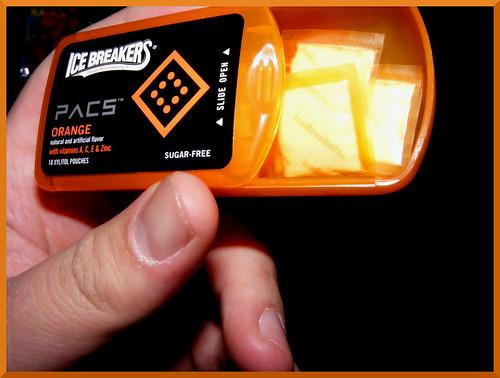 orange ice cool candy cream trendy breakers pacs