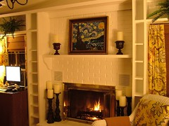 After 1 (The One and Only Jet Guer) Tags: flowers winter white house fern brick home beautiful yellow night computer fire design casa cozy chair fireplace warm mediterranean candle apartment desk interior library traditional relaxing logs books before clean study fabric chandelier decorating tropical curtains after makeover cashmere therapy van remodel bookcase gogh wicker shelves starry throw redesign candlesticks apartmenttherapy cashmerethrow