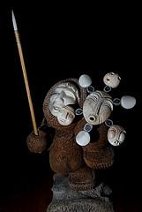 Inuit Shaman V2 (Poppa-D) Tags: sculpture darren artwork nikon d pad stevenson inuit d200 shaman poppa whalebone poppad sb800 strobist