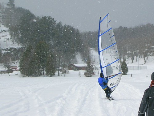 European Winter Windsurfing Cup in Latvia