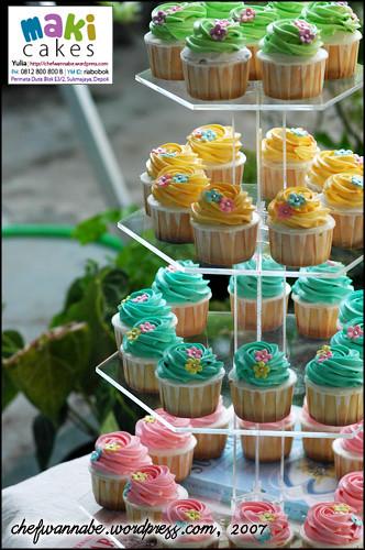 Cupcakes for Farewell Indah