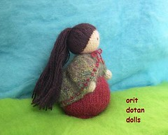 standing knitted doll (orit dotan) Tags: shop children education knitting doll dolls handmade handwork softdoll  steiner   naturalkids   waldorfdolls      oritdotandolls standinddoll            dollsartist