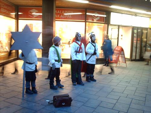 Tiernapojat, los Reyes Magos de Finlandia