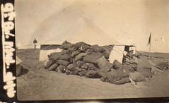 Mail bags for the 9th Battalion, 1916 (thompsoe) Tags: mail wwi egypt worldwari worldwarone ww1 worldwar1 1916 zeitoun australiansoldiers 9thbattalion hobista
