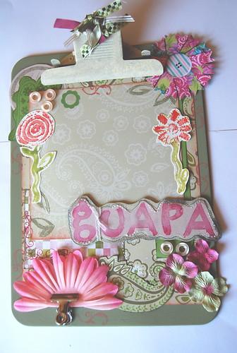 Marco clip Guapa
