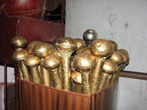 maces at b r temple