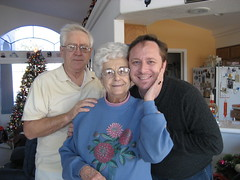 Dad, Grandma and Tim. (12/24/2007)