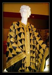 Qatar. Fasionable Qatari dress,  designed by H.E. Emir Hamad bin Khalifa Al Thani (Rosa Klein) Tags: design al bin khalifa tradition thani emir hamad picnik qatar fasion qatarfasionableqataridress designedbyheemirhamadbinkhalifaalthani