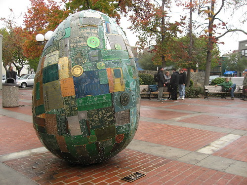 Silicon Valley Sightings: The Palo Alto Egg