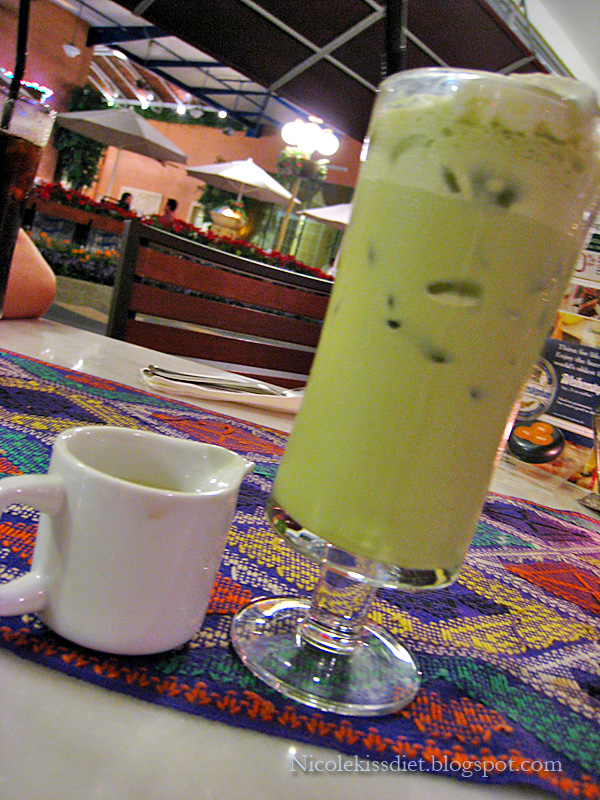 green tea latte 2