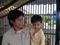 My youngest brother and Hafif (piscean_chrysalis) Tags: haifa puteri mohd haniff qiqah