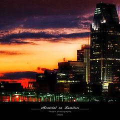 M o n t r e a l (Imapix) Tags: city travel sunset urban canada nature buildings soleil photo photographie montral quebec montreal coucherdesoleil imapixphotography gatanbourquephotography