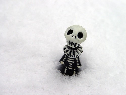 poppet in the snow