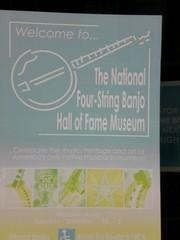 Banjo Museum in Guthrie, Ok