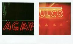 Half way to Acapulco (Preet Shihn) Tags: polaroid sx70 neon acapulco blend 600film