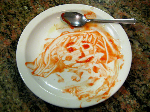 ketchup face, attempt two