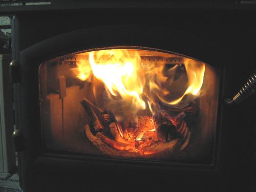 Quadrafire wood-burning stove