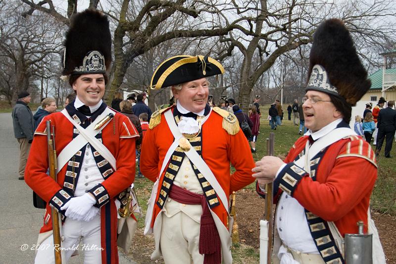 American revolution uniforms